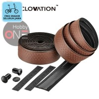 CICLOVATION Advanced Bar Tape with Grind Touch - CHOCOLATE BROWN FREE