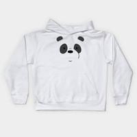 Jaket Hoodie Jumper Sweater Obral Murah WE BARE BEARS BEAR PANDA PUTiH