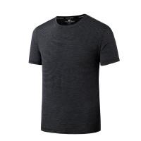 [IMPORT] 2020 pria musim panas baru es sutra leher bulat t-shirt,