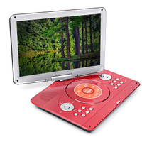 Diskon 16 Inch 270 Rotation Portable DVD Player Car Game USB TV AV