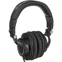 AUDIOTECHNICA ATHM50S Professional ClosedBack Studio Headphones with a