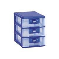 Lion Star PR17 Pressa Midi Container M3 Lemari Laci Plastik Susun 3