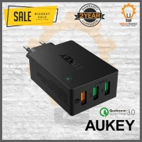 Aukey 3 Ports Quick Charge 3.0 Wall Charger Adaptor PA-T14 Qualcomm
