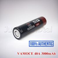 Baterai 18650 Vamoce 40A 3000mAh Authentic