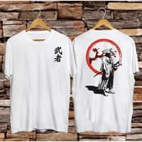 T-shirt Samurai X / Baju Kaos Distro Pria Wanita Cotton 30s