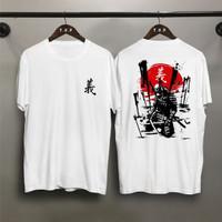T-shirt Samurai Die / Baju Kaos Distro Pria Wanita Cotton 30s