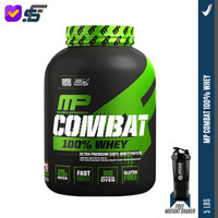 Mp Combat 100% Whey 5Lbs Muscle Pharm Whey Protein Kode 1306