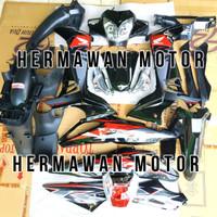 Full Body Honda Supra X 125 Th 2007 - 2013 Batman Warna Hitamstiker