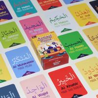 Kartu Edukasi Anak 2 Tahun - Flash Card Mainan Flashcard Asmaul Husna