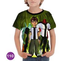 Baju Ben 10 - Alien Force 3D Kaos Baju Series Anak #110