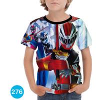 Baju Power Ranger Ninja Steel Baju Series Anak #276