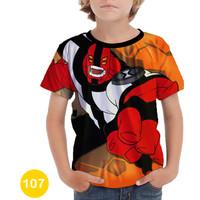 Baju Ben 10 - Alien Force 3D Kaos Baju Series Anak #107