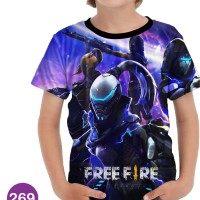 Baju Free Fire Baju Series Anak #269