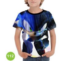 Baju Sonic the Hedgehog 3D Kaos Baju Series Anak #112