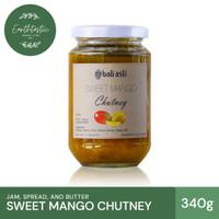Bali Asli Sweet Mango Chutney / Chutney Mangga Manis 340gr