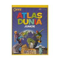 BUKU SERI NATIONAL GEOGRAPHICS KIDS : ATLAS DUNIA JUNIOR