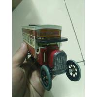 mobil kaleng classic toys pajangan barang antik diecast mainan koleksi