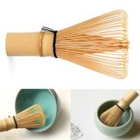 Kuas Pengaduk Matcha Green Tea Bamboo Whisk