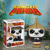 Funko POP! Movies - Kung Fu Panda - Po With Hat #252