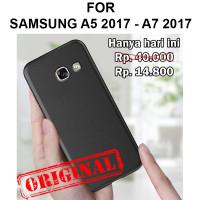 TPU case Samsung A5 A7 2017 A520 A720 softcase casing cover ultra thin