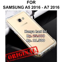 Anti crack soft case Samsung A5 A7 2016 A510 A710 casing hp cover tpu