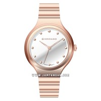Giordano Fashionista 2928-55 Ladies Silver Dial Rose Gold Stainless