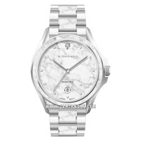 Giordano Fashionista GD-2041-11 Ladies Silver Marble Dial Stainless