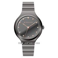 Giordano Fashionista 2928-77 Ladies Grey Dial Gunmetal Stainless Stee