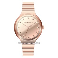 Giordano Fashionista 2928-66 Ladies Rose Gold Dial Rose Gold Stainles
