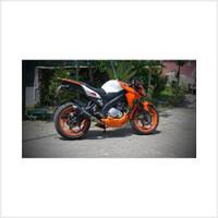 Stok Baru Conrod Peninggi Shock Belakang Yamaha New Vixion