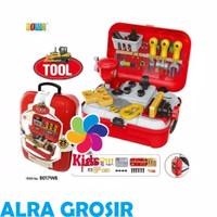 Mainan anak tool back pack playset - mainan edukasi alat tukang KOS