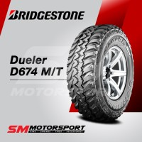 Ban Mobil Bridgestone Dueler D674 MT 225/75 R16 16 0WT 110Q 8PR