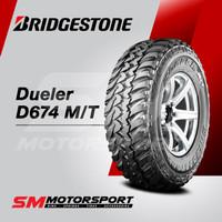 Ban Mobil Bridgestone Dueler D674 MT 265/75 R16 16 0WT 112Q 8PR