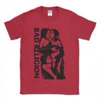 Baju Kaos Band Bad Religion Red Kiss - XS