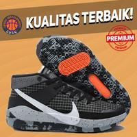 Sepatu Basket Sneakers Nike KD 13 Oreo Black White Pria Wanita
