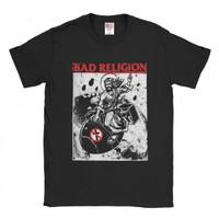 Baju Kaos Band Bad Religion Atomic Jesus