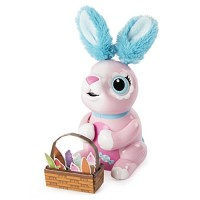 Zoomer Hungry Bunnies Shreddy, Interactive Robotic Rabbit That Eats, A