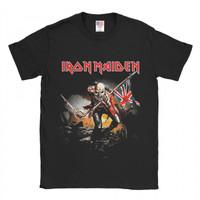 Baju Kaos Band Iron Maiden Troopers