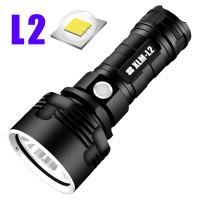TaffLED Senter LED USB Rechargeable L2 XHP50 25W 1000 Lumens - XLML2