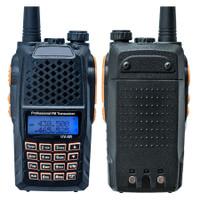 Taffware Walkie Talkie Dual Band Radio 5W 128 CH UHF+VHF - UV-6R