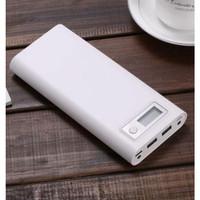 Taffware DIY Power Bank Case USB Type C Dual Output & LCD C13 White