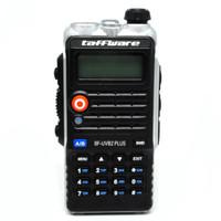 Taffware Walkie Talkie Dual Band 8W 128CH UHF+VHF - BF-UVB2 Plus
