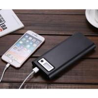 Taffware DIY Power Bank Case USB Type C Dual Output & LCD C13 Black