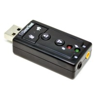 Taffware USB 7.1 Channel Sound Card Adapter - TC-03