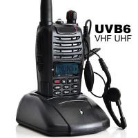 Taffware Walkie Talkie Dual Band Two Way Radio 5W 99CH UHF+VHF - UV-B6