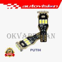 Autovision Microzen LED T15 Putih Lampu Mundur Sein Sen Rem sparepa