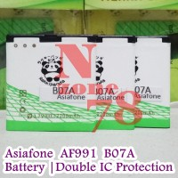 Baterai Asiafone AF991 B07A Double IC Protection 8