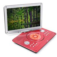 Cool 16 Inch 270 Rotation Portable DVD Player Car Game USB TV AV