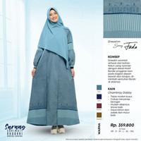 Rabbani Dresslim Sarang Fada Original Baju Gamis Wanita