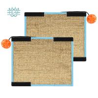 Cat Scratch Pad, 12.4X9.64 Inch Cat Scratch Board Sisal, Protect